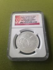 2014 NGC PF70 1/2oz Australian Silver Proof Horse - Early Release/Red Label