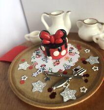 1:12 Scale Dollhouse Miniature Fairy Dolls House Disney Food Accessory Cake