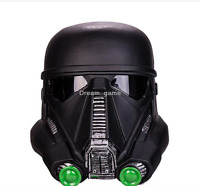 The Star Wars Death Storm Trooper Black Helmet PVC Movie Cosplay Mask Props