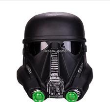 1:1 The Star Wars Death Storm Trooper Black Helmet PVC Movie Adult Mask Props