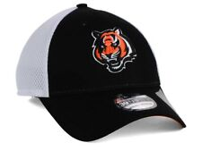 Cincinnati Bengals Mens New Era Neo 39THIRTY Stretch-Fit Hat Cap - M/L  NWT