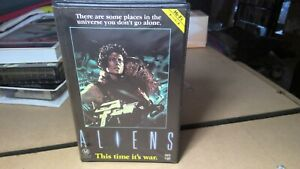 Aliens. VHS Movie. Clamshell. Very Good Condition. SCI.FICTION.