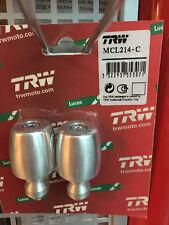 TRW Lucas ALU Lenkerenden für 28mm lenker und Motocross Offroad MCL 214C chrom