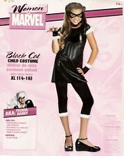 Marvel Black Cat Costume for Girls XL 14-16 Felicia Hardy Spiderman
