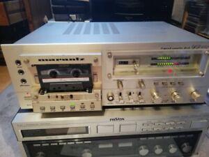 Seltenes Marantz SD 6020 2-speed Hifi Stereo Cassette Deck Tapedeck champagner