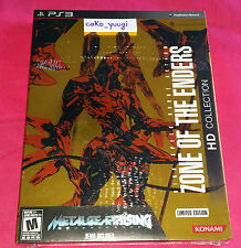 ZONE OF THE ENDERS HD COLLECTION LIMITED PS3 NEUF VERSION US 100% FRANCAIS
