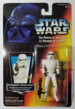 Star Wars The Power of the Force - Stormtrooper - ORANGE - MOC
