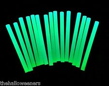 "24 Halloween GLOW in the Dark Mini 5/16 (.25"") Hot Melt Glue Sticks 4"" Length"