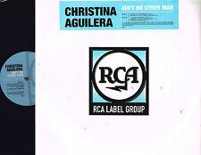 "CHRISTINA AGUILERA Ain't No Other Man (Rmx) 12"" Junior Vasquez DJ PREMIER @RCA1T"