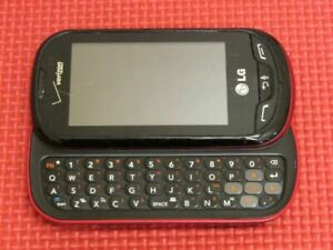 LG LG-VN271 Extravert Verizon Wireless Black/Red 80MB QWERTY Slider Cell Phone 2
