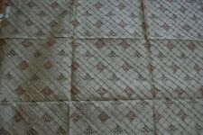 FABULOUS QUALITY 100% PURE SILK SHANTUNG QUILT - EMBD. / FURNISHING COLLECTION.