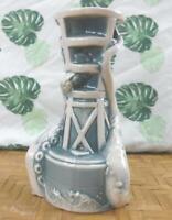 """Tiki Mug Blue Kraken Bell Bouy by Thor from Munktiki Imports 7"""" Tall 12oz 274"""