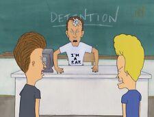 BEAVIS & BUTTHEAD MTV Original Production Cel Cell Mike Judge Animation P.A.T