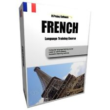 AUC LEARN TO SPEAK FRENCH LANGUAGE TRAINING COURSE PC DVD NEW