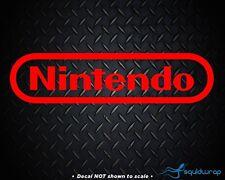 Nintendo RED retro logo sticker decal - For NES DS 3DS Wii