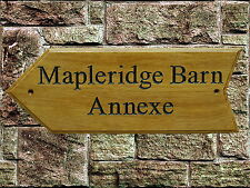 Personalised wooden House Name Plaque/Signs- Solid hard wood,Patio, Porch,