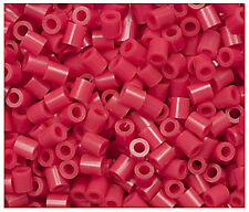 1000 Perler Red Color Iron on Fuse beads NEW