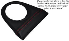 RED STITCH FITS HONDA CIVIC TYPE R&TYPE S 06-12  GEAR SURROUND LEATHER COVER