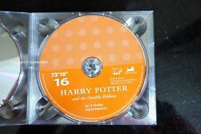 Harry Potter Deathly Hallows Audio Book CD DISC SPARE: SIXTEEN 16 Stephen Fry
