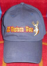 J C Western Wear Blue Baseball Cap / Hat