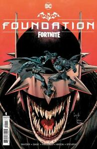 BATMAN FORTNITE FOUNDATION #1 (WITH DOWNLOAD CODE) COVER A CAPULLO DC 2021 RB03