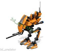 Utapau-walker AT-TRCT CUSTOM recipe instruction per LEGO ® Star Wars ™®