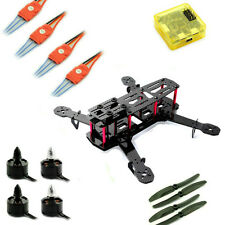 250 carbon quadcopter with motors esc CC3D controller combo kit for Drone racing