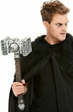 Thor Hammer Boys Fancy Dress Weapon Kids Childs Costume Accessory New