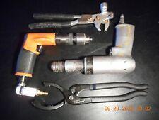 (Lot Of 4) Aviation/Auto Tools - Dotco Drill/Atlas Copco Rivet Gun - Hand Tools