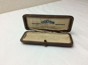 Vintage Movado Chronometre Bracelet Box + FREE SHIPPING