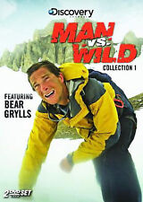 Man Vs. Wild - Collection 1 (DVD, 2007) SHIPS NEXT DAY Discovery Bear Grylls