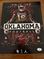 Jalen Hurts Hand Signed Autographed Oklahoma Sooners 8x10 Photo w/COA Eagles 🦅