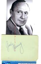 More details for jack benny vintage signed page aftal #145