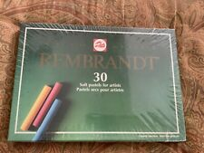 Rembrandt 30 Extra Fine Quality Soft Pastels New