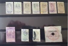 Indian Revenue Foreign Bill /court Fee 11 no. stamps of Edward and King Gorge V