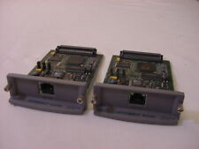 (2) Hp Jetdirect 600N Print Server Cards