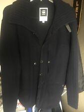 eb5b156351 G star raw mens wool cardigan knit sweater XL slim