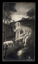 "santino-holy card ""ediz.NB n.340 GESU' BAMBINO BUON PASTORE"