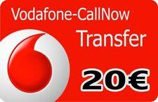 Vodafone D2 Callya Guthaben / Call Now Transfer 20€ Prepaid