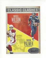 2016 Classics Classic Clashes #3 Russell Wilson/Carson Palmer Seahawks Cardinals