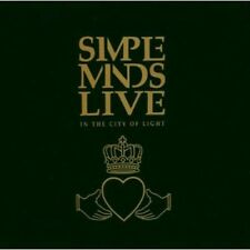 Live-In The City Of Light - 2 DISC SET - Simple Minds (2003, CD NUOVO)