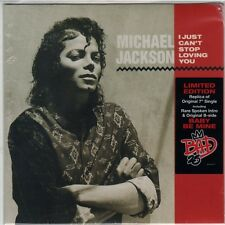 """MICHAEL JACKSON I JUST CAN'T STOP LOVING YOU 2012 LIMITED  7"""" SINGLE"""