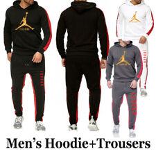 Men's Pullover Hoodies Suit Tracksuit Sweatshirt Suit Hoodie+Sweat pants Jogging
