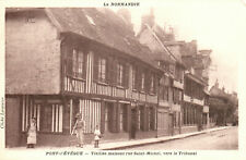 Ak*   La Normandie- Pont-Lêvêque-Vielles maisons rue St.-Michel (AB) 20348