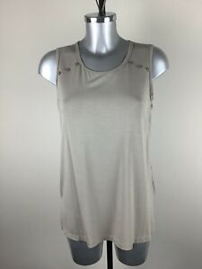 Picadilly Cami Size XL BNWT Taupe Button Detail RRP £50 Now £22