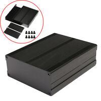 Black 120x97x40mm Split Body Aluminum Box Enclosure Case Project Electronic DIY