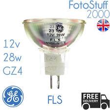 More details for fls 12v 28w gz4 mr11 35mm ge 30894 microfilm microfiche bulb lamp fls uk stock