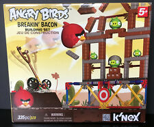 Knex Angry Birds Breakin' Bacon Building Set Complete In Box