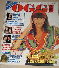 OGGI=1999/17=NATALIA ESTRADA=NICOLA TRUSSARDI=MASONE=INDRO MONTANELLI=BARZIZZA=