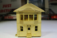 OVERLAND BRASS UNPAINTED UP TOWER A CHEYENNE WY INTERIOR SUPERB DETAIL HO